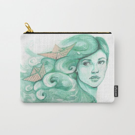 Paper ships Carry-All Pouch