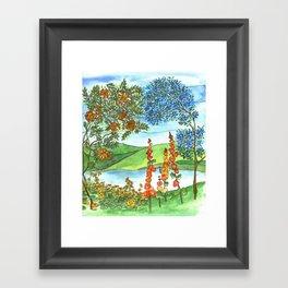 Echo Framed Art Print
