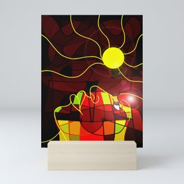 Being Of Light Mini Art Print