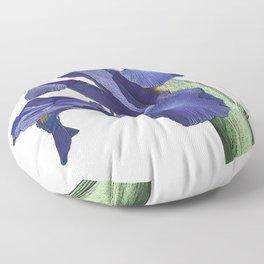 Blue Iris Floor Pillow