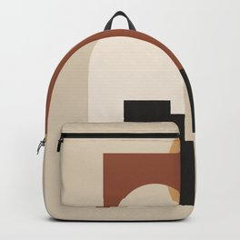 HOME - abstract minimalist art Backpack