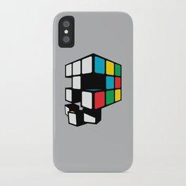Rubix Skull iPhone Case