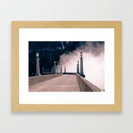 Mist Over Diablo Framed Art Print