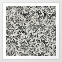 Botanical Pattern II Art Print