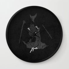 the wizard does not remain the same Wall Clock