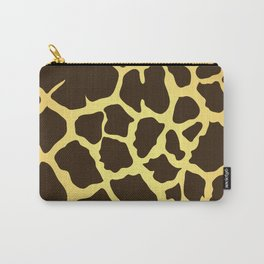Giraffe Skin Print Carry-All Pouch