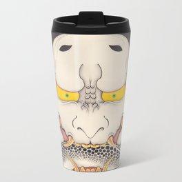 hannya and snake Metal Travel Mug