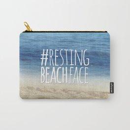 #RestingBeachFace Carry-All Pouch