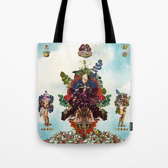 Boaz and Jachin  Tote Bag
