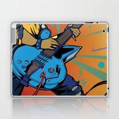 Pop Art Guitarist Laptop & iPad Skin