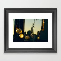 Brief moment of clarity  Framed Art Print