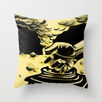 patriots Throw Pillows featuring Patriots and Heroes by Aaron Bir
