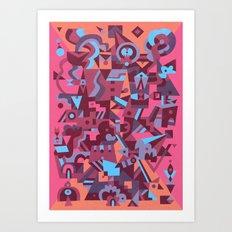 Schema 12 Art Print
