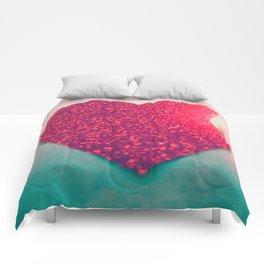 Burning love Comforters