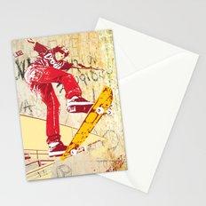 skateboarder Stationery Cards
