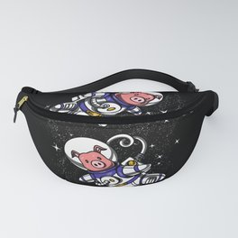 Cute Pig Space Astronauts Fanny Pack
