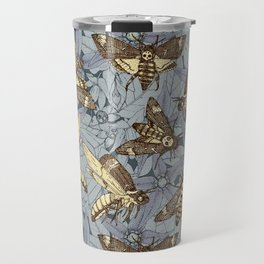 Death's-head hawkmoth twilight Travel Mug