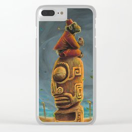 Koshi Greets The Storm Clear iPhone Case