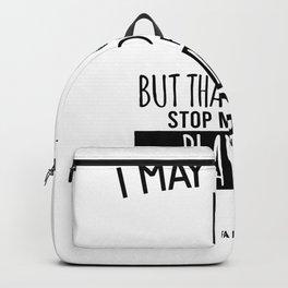 Minigolf Sport Hobby Backpack