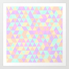 Triangles IV Art Print