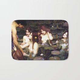 HYLAS AND THE NYMPHS - WATERHOUSE Bath Mat