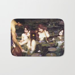 HYLAS AND THE NYMPHS - WATERHOUSE Bath Mat