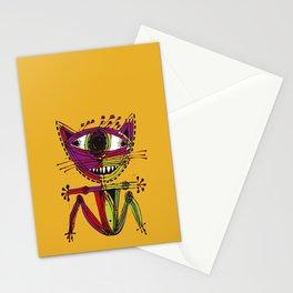 serge-pichii-cat-0207 Stationery Cards
