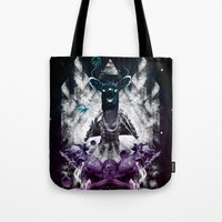 chaos Tote Bags featuring Chaos by CAP 388