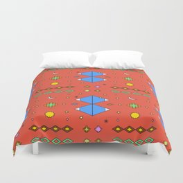 South America Dreaming Duvet Cover