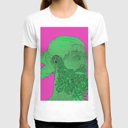 Hipster Neptune - Seaweed T-shirt