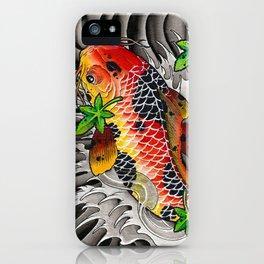 Fall Koi iPhone Case