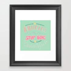 Intelligence Framed Art Print