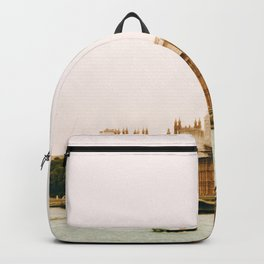 Sepia London England Cityscape (Color) Backpack