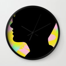I'm the fury in your head Wall Clock