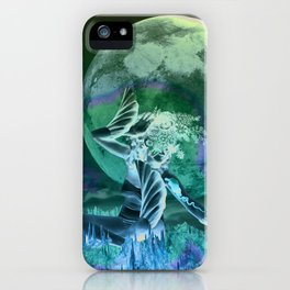 Moon in Pisces iPhone Case