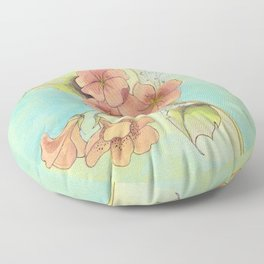 BOTANICAL STUDY III Floor Pillow