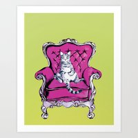 lime Art Prints featuring Lime by Rebel June