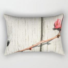 Fly On the Wall Rectangular Pillow