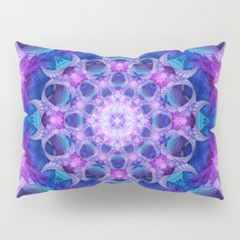 Angelic Gateway Mandala Pillow Sham