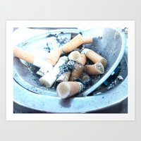 cigarettes Art Prints featuring Cigarettes by Beatrice