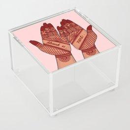 thank u, next Acrylic Box