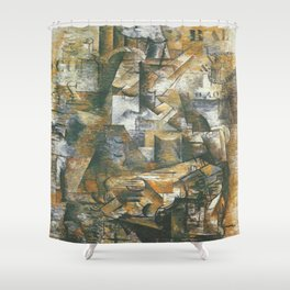 Georges Braque The Portugese Shower Curtain
