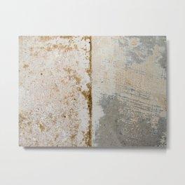 Wall surface texture Metal Print