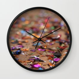 Glitter II Wall Clock