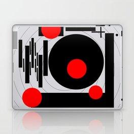 Optical Red Laptop & iPad Skin