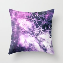 ε Purple Aquarii Throw Pillow