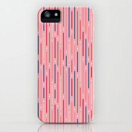 Colourful Lines 3 iPhone Case