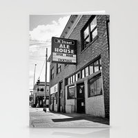 ale giorgini Stationery Cards featuring M Street Ale House by Vorona Photography
