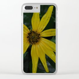 Yellow is Supposed to be a Happy Color Clear iPhone Case