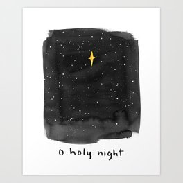 O Holy Night Art Print